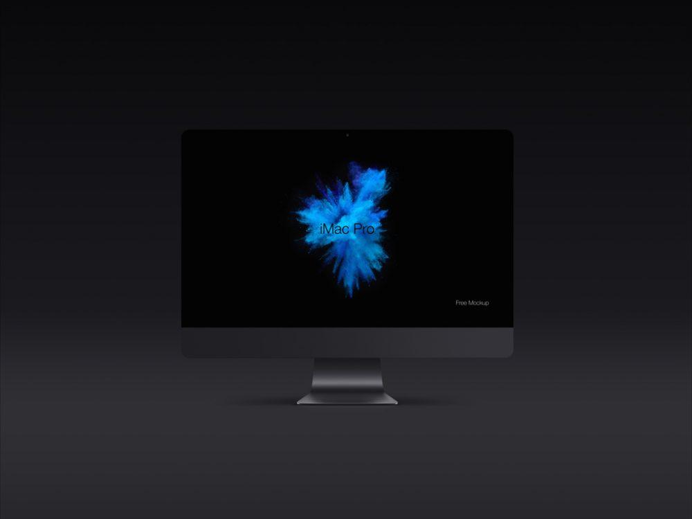 iMac Pro Vector Shapes Mockup