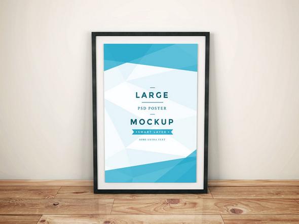 5 Poster Mockups gratis