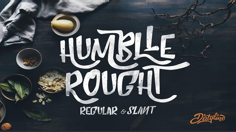 Tipografía Humblle Rought