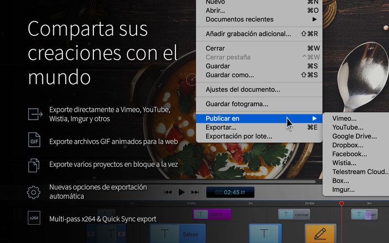 Descarga Screen Flow 7 para Mac