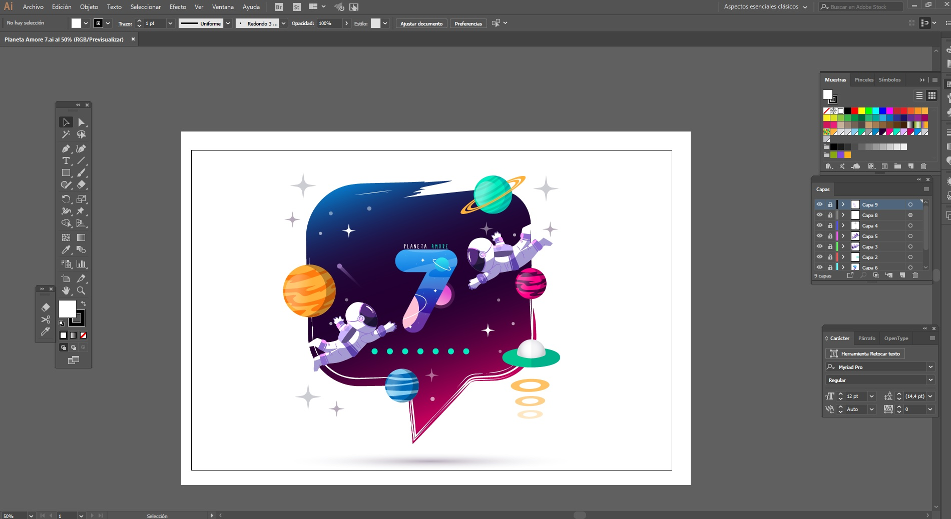 Curso Illustrator: El entorno de Illustrator