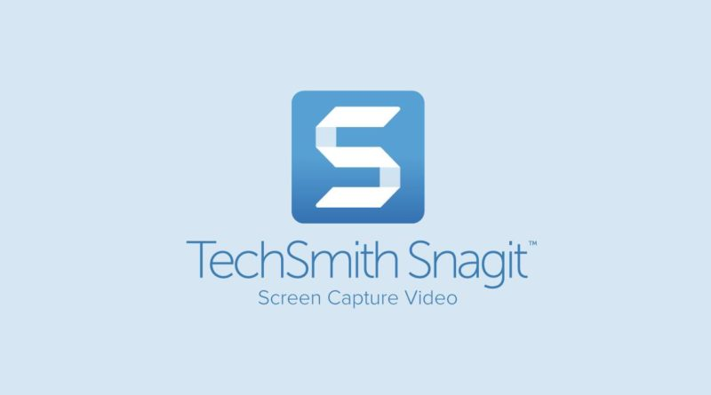 Descarga TechSmith Snagit 2019
