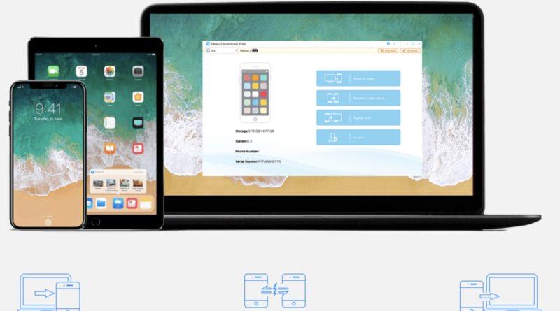 EaseUS MobiMover: Transfiere datos fácilmente en dispositivos iOS