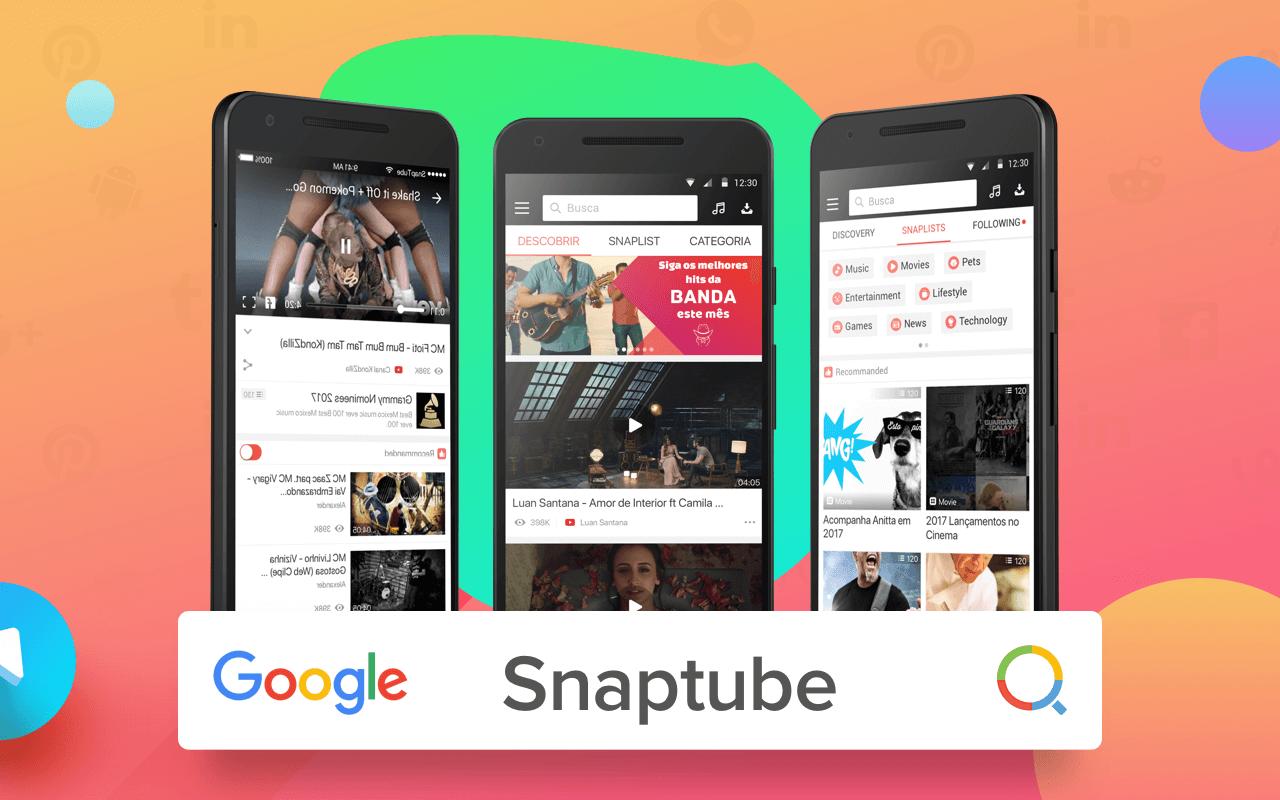 Snaptube: Descarga gratuita de música y vídeo de Facebook, Instagram y Twitter