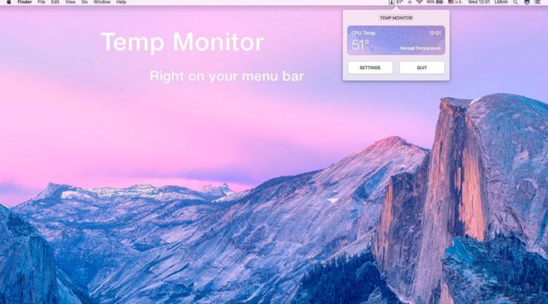 Temp Monitor for Mac