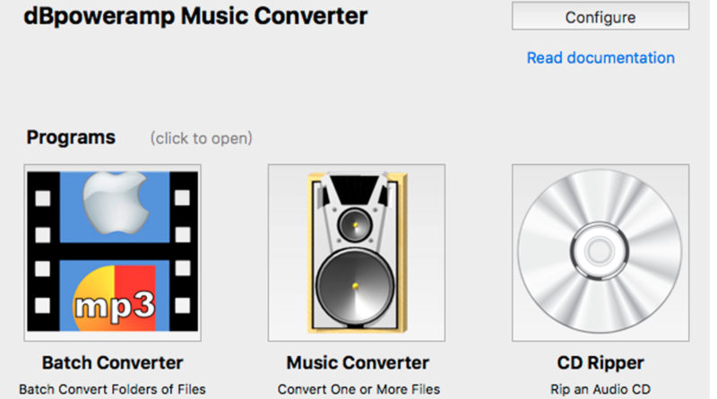 Descarga dBpoweramp Music Converter