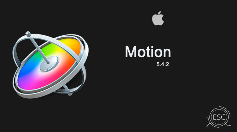 Motion 5 4 2 for Mac