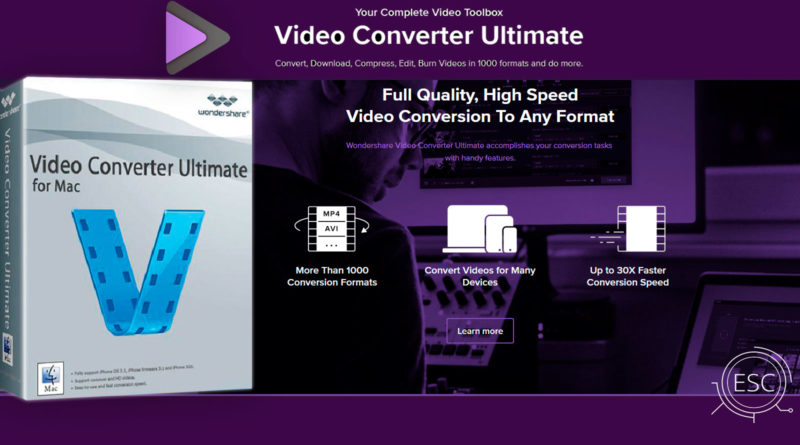 Wondershare Video Converter Ultimate para Mac es un convertidor Full de vídeo digital, grabador de DVD y convertidor de arrastrar y soltar increíblemente rápido disponible para descargar