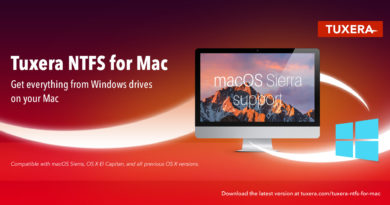 Microsoft NTFS for Mac by Tuxera