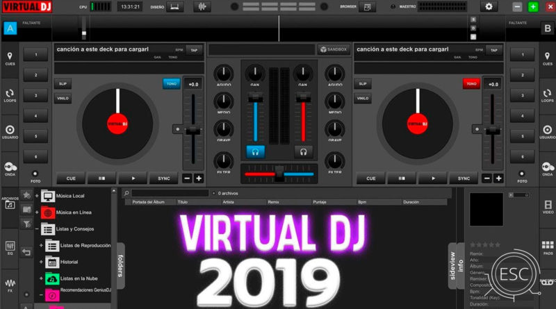 Virtual DJ Pro para Windows