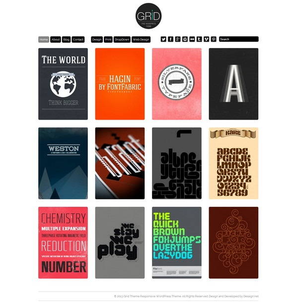 Grid –Free Download Limited Responsive Version