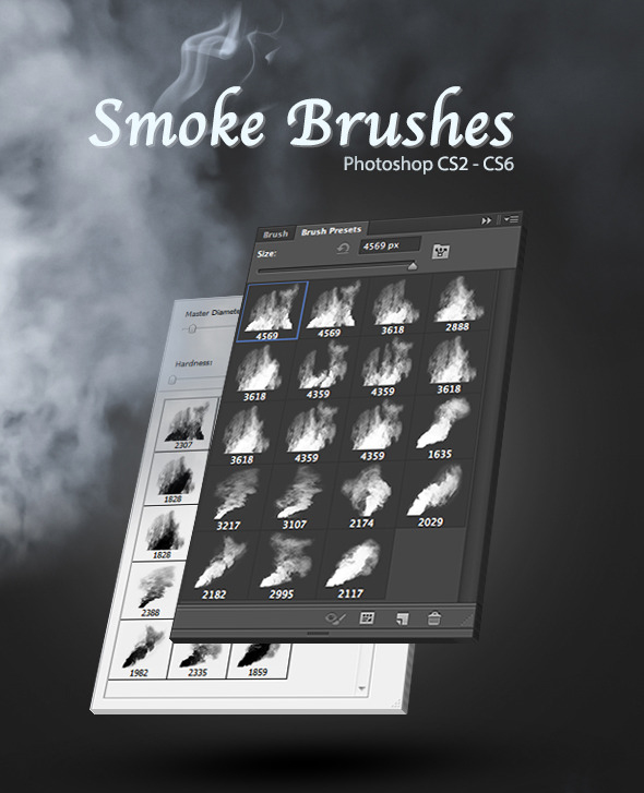 Pinceles de humo para Photoshop