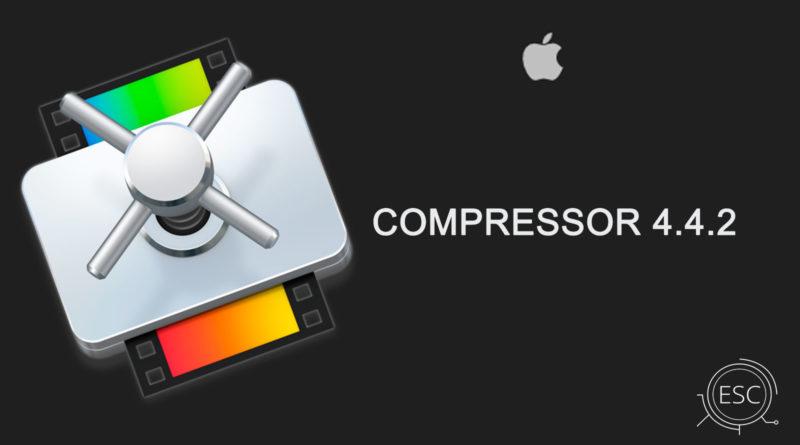 Compressor 4 4 2 for Mac