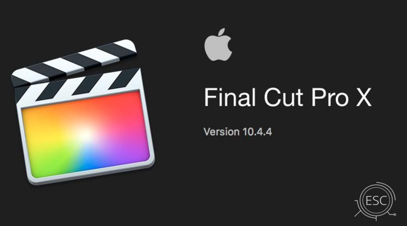 Final Cut 10 4 4 para Mac