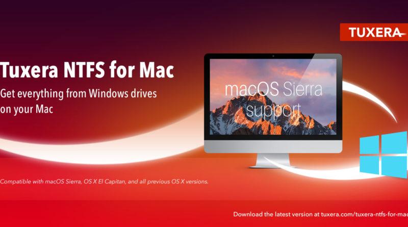 Microsoft NTFS for Mac by Tuxera