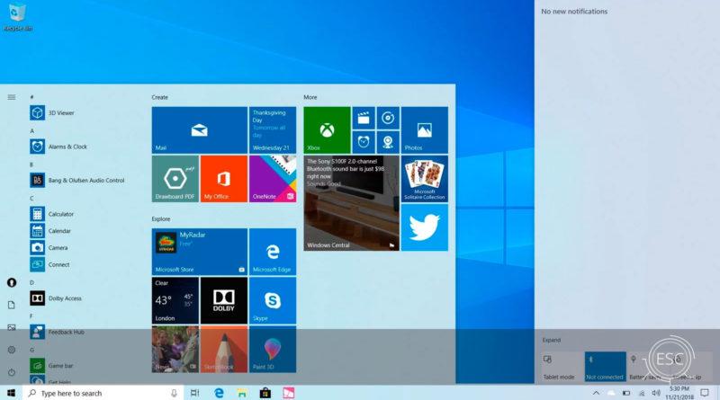 Descarga Windows 10 1903