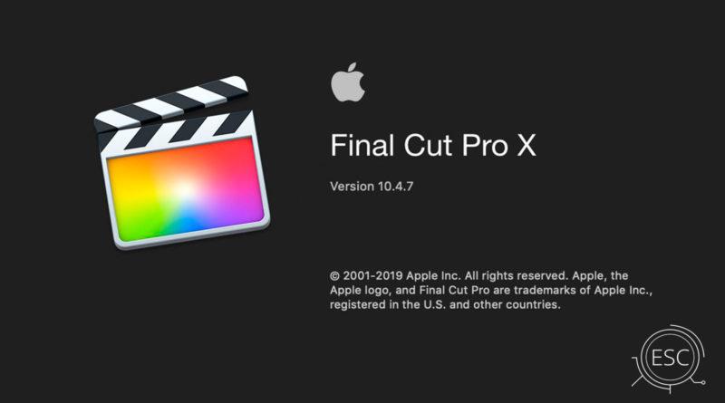 Final Cut Pro 10 4 7 para mac