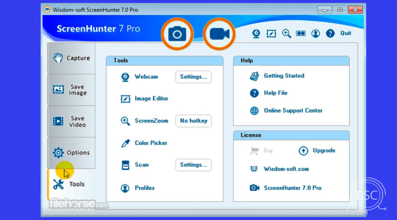 ScreenHunter Pro 7.0 Screenshot for Windows