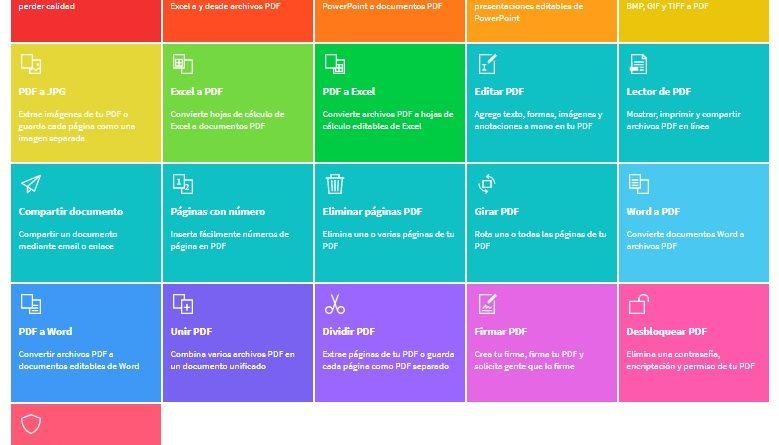 SmallPDF, la mejor herramienta para comprimir PDF en línea